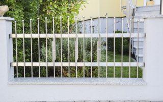 Zäune und Tore aus Edelstahl bei Stroff Metalltechnik